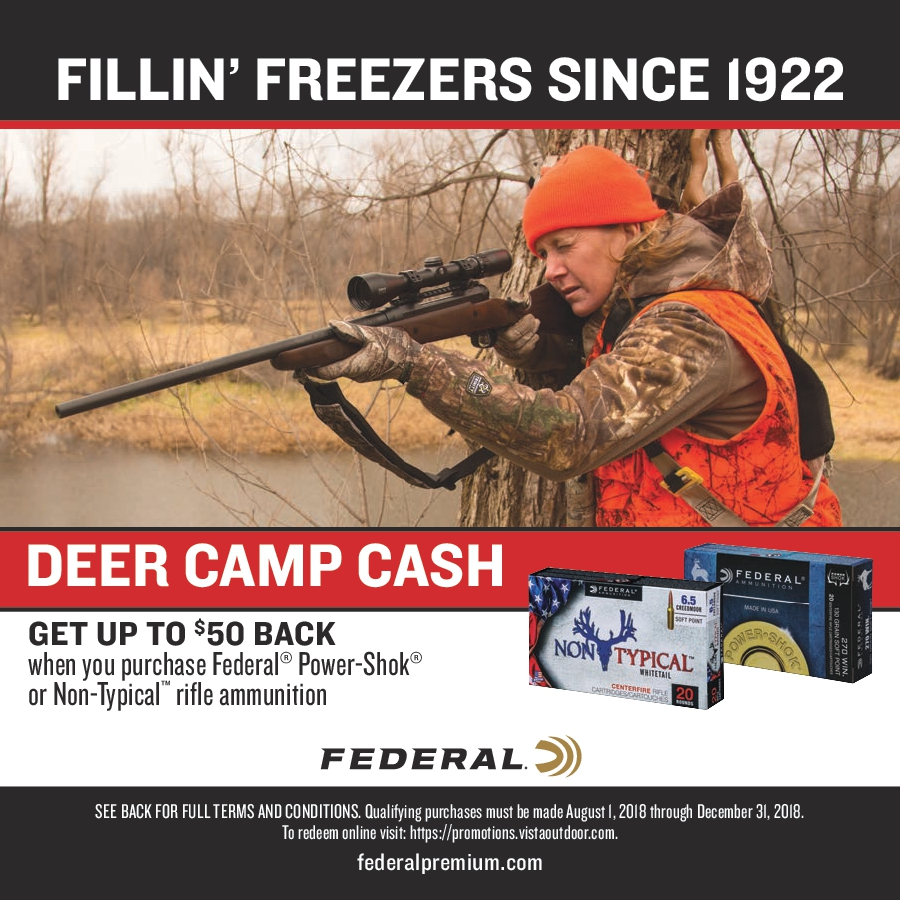 Federal Ammunition Rebates