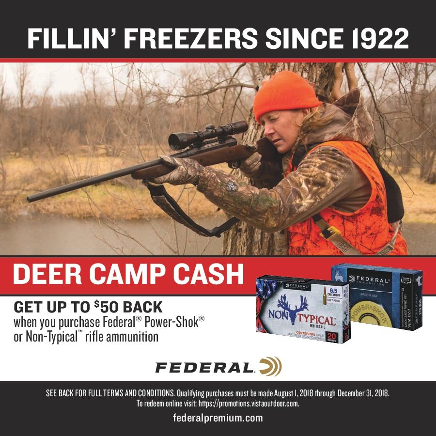 Federal Ammunition Rebates